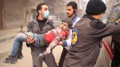 Children's life 'living nightmare' in Syria's East Ghouta: UNICEF