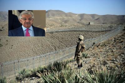 Fencing along Pak-Afghan border to help eliminate terrorism: Asif