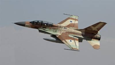 Israeli Air Force F 16 crashes after hitting Iranian targets in Syria