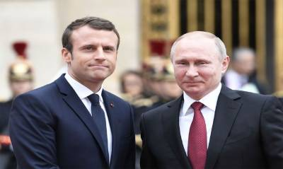 Macron urges Putin to help end civilian suffering in Syria