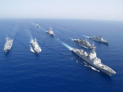 Pakistan Navy war games with Royal Saudi Navy for the first time in South Arabian Sea