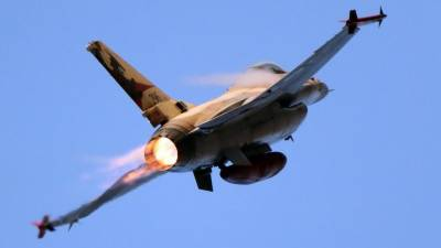 Syrian Army Air Defence shoots down Israeli fighter jet