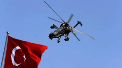 Turkish Military Helicopter shot down over Syria