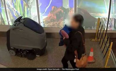 Woman gives birth in Airport Bathroom, leaves baby behind: Police