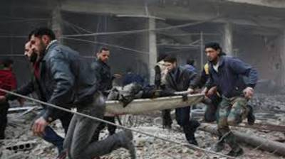 230 civilians killed in Syrian and Russian airstrikes in Syria during past week