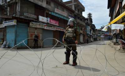 Complete shutdown in Kashmir over martyrdom anniversary of Maqbool Butt