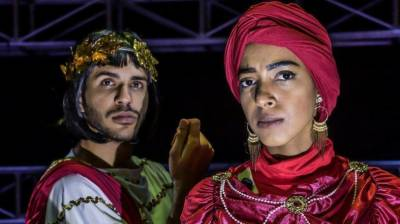 Saudi Arabia's first female theatre actress unveiled