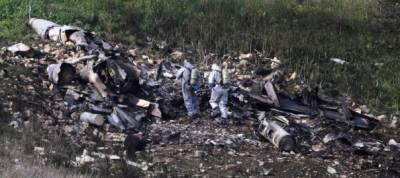 Syria shoots down Israeli F-16
