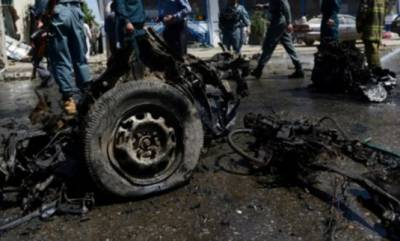 Car bomb explosion in Afghanistan