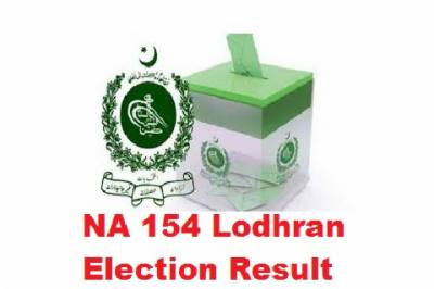 NA 154 by elections: Results final unofficial