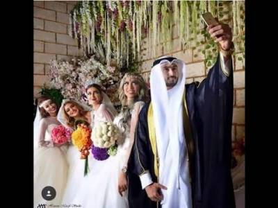 Saudi national ties the knot with four girls same day, same time
