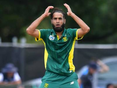 VIDEO: Pakistan born South African spinner Imran Tahir racially abused by disgruntled Indian