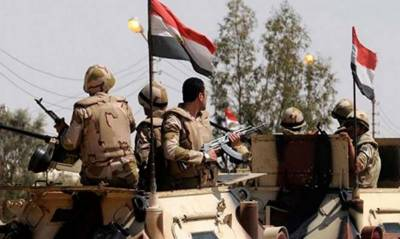 12 militants killed in Egypt