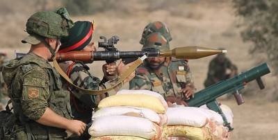 Explosion in the Indian Army firing Range in Pokhran, Rajasthan