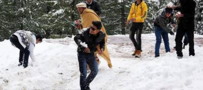 Intermittent snowfall continues in parts of country