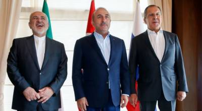 Russia, Iran, Turkey foreign ministers to discuss Syria in Astana next month