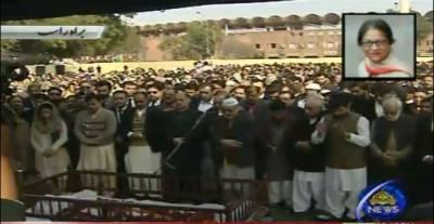 Where would Asma Jehangir be buried