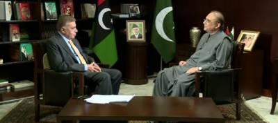 Nawaz Sharif came into power through fake mandate: Asif Zardari