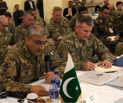 Pakistan Army Chief holds important meeting with Afghan Army Chief, US Commander in Kabul