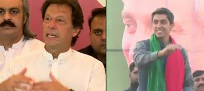 Imran defends Ali Tareen–says PML-N spent money to win by-election