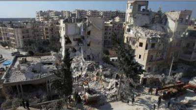In Syria: 7 killed in Russian airstrikes