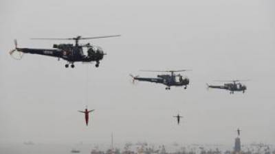 Indian Armed Forces carryout massive maritime exercise along western coast