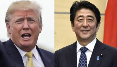 Japan's Abe, Trump agree to keep up pressure on North Korea