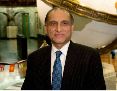 Pakistan, US need to work together to eliminate terrorism from region: Aizaz