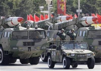 China's military might rattles US Generals