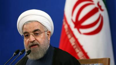Iranian President Hasan Rouhani urges Muslims to support Palestine cause