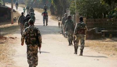 8 Indian soldiers killed, injured in an attack by Naxals in Chhattisgarh