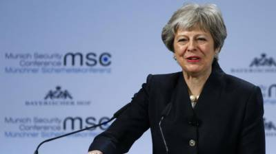 British PM calls for new security treaty with EU
