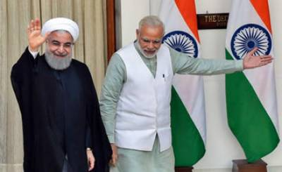 Forgetting plight of Kashmiri Muslims, Iran's Rouhani vows to fight terrorism alongside India