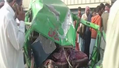 Four killed, three injured in road accident near Jampur