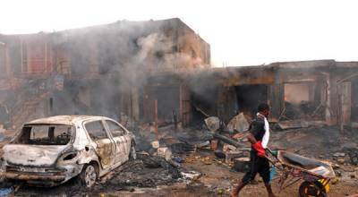 Three suicide bombers kill 18 in Nigeria's Maiduguri: police