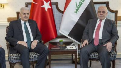 Turkey, Iraq agree to increase cooperation in fighting terrorist groups in Syria's Afrin region