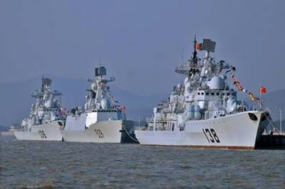 Chinese Navy Warships enter Indian ocean amid tensions in tiny Maldives island