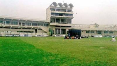 Imran Khan lays foundation stone of Arbab Niaz Cricket Stadium, Qayyum Sports Complex