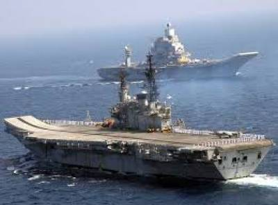 India conducts major maritime exercise in Indian ocean amid reports of Chinese Naval presence in area