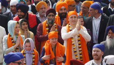 India gives Trudeau list of suspected Sikh separatists in Canada