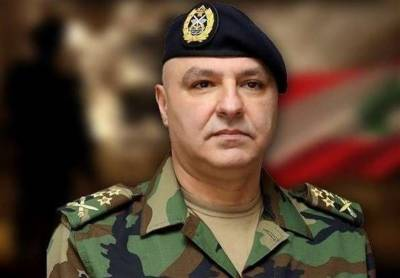 Lebanon Army Chief issues stern warning to Israel
