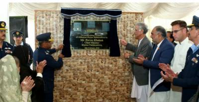 PAF launches Alamabad welfare project in Swabi