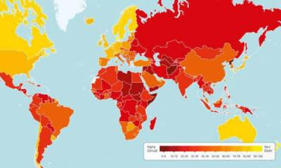 Annual Corruption Perceptions Index: Where does Pakistan stand among 180 nations of the World