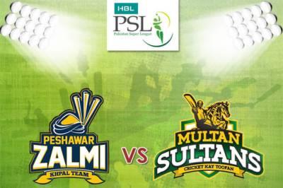 Peshawar Zalmi vs Multan Sultan: Live Update PSL 3