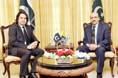 President Azad Kashmir commends Turkey's support for Kashmir cause at International fora