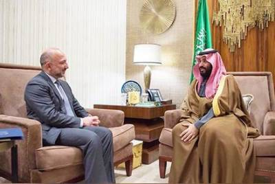 Saudi crown Prince comes out in full support of Afghanistan peace process