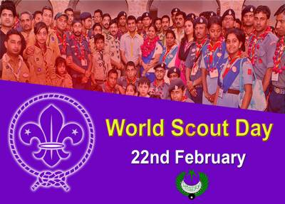 World Scout Day being observed today