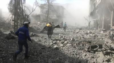 13 killed in Syria in bombardment by govt forces