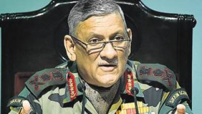 Indian Army Chief threatens to strike inside Pakistan