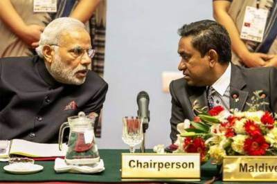 Maldives warns India to mind it's own business